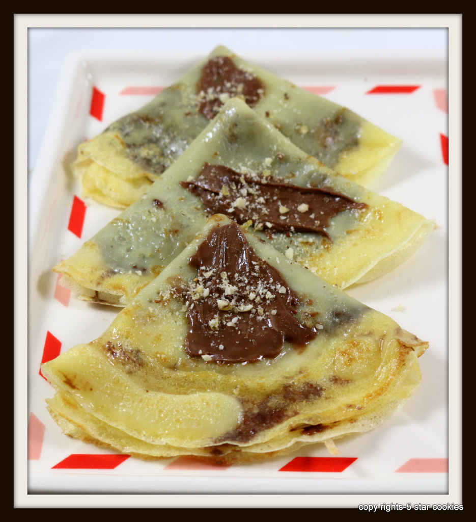 crepes from the best food blog 5starcookies-Enjoy