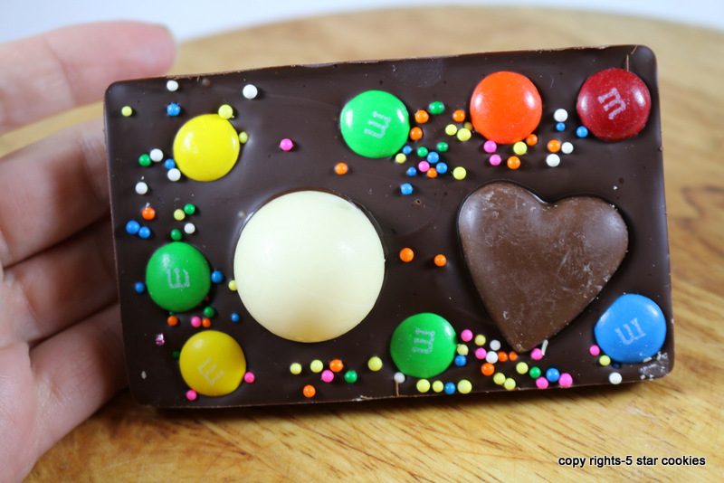 Valentine Love Chocolate from the best food blog 5starcookies