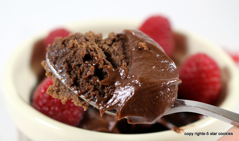 Nutella Red Wine Pot de Creme from the best food blog 5starcookies-baked the best Nutella Red Wine pot de creme