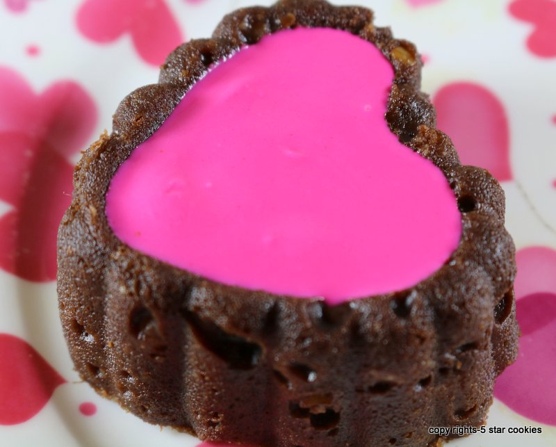 pink brownies from the best food blog 5strcookies-for the pink nation