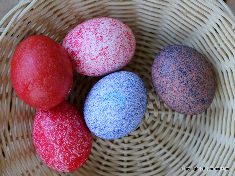 Easter from the best food blog 5starcookies-your colored egg