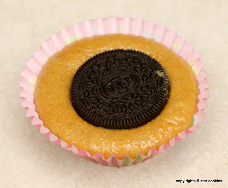 Oreo Peanut Butter Cup from the best food blog 5starcookies-top with Oreo