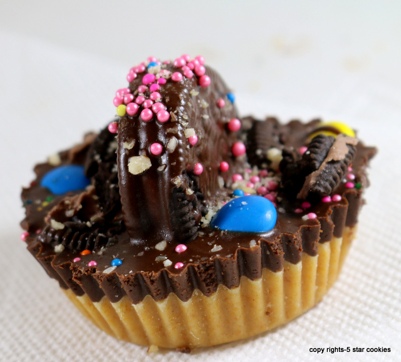 Oreo Peanut Butter Cup from the best food blog 5starcookies