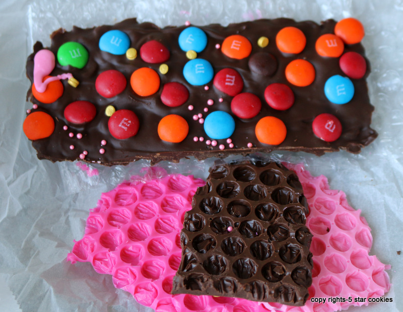 homemade bubble chocolate from the best food blog 5starcookies