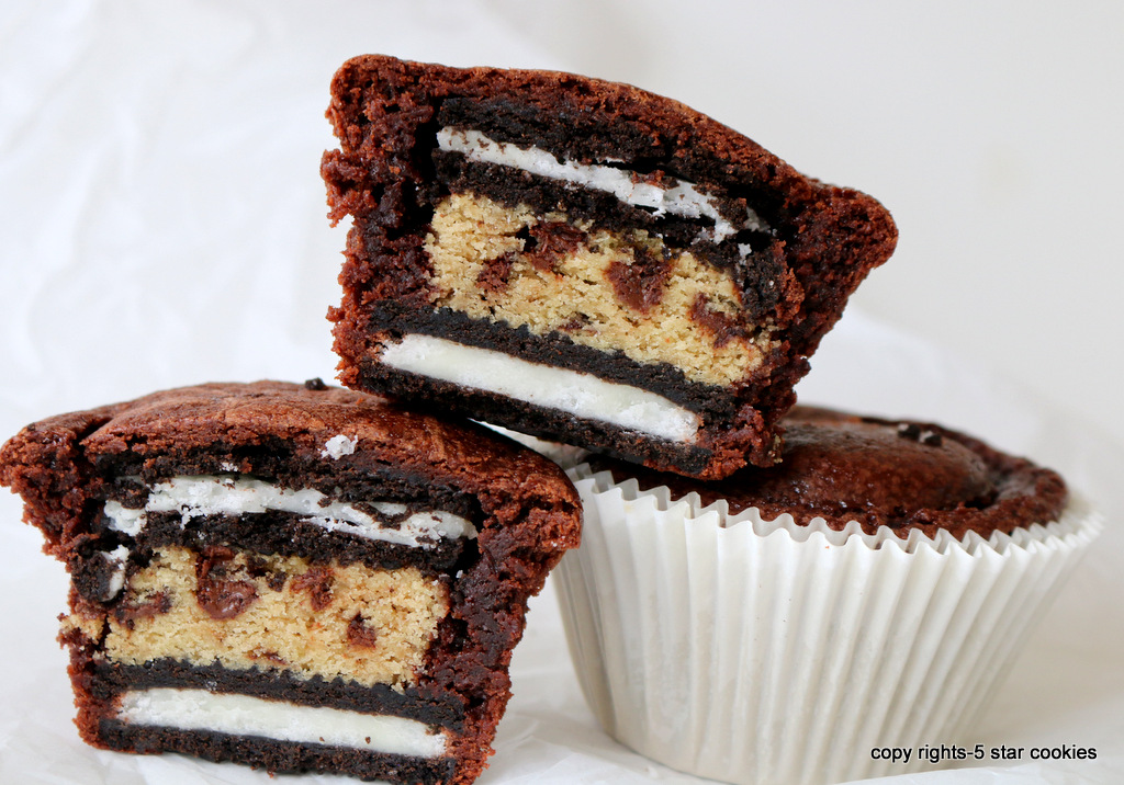 Brownie Genius Oreo Cups from the best food blog 5starcookies