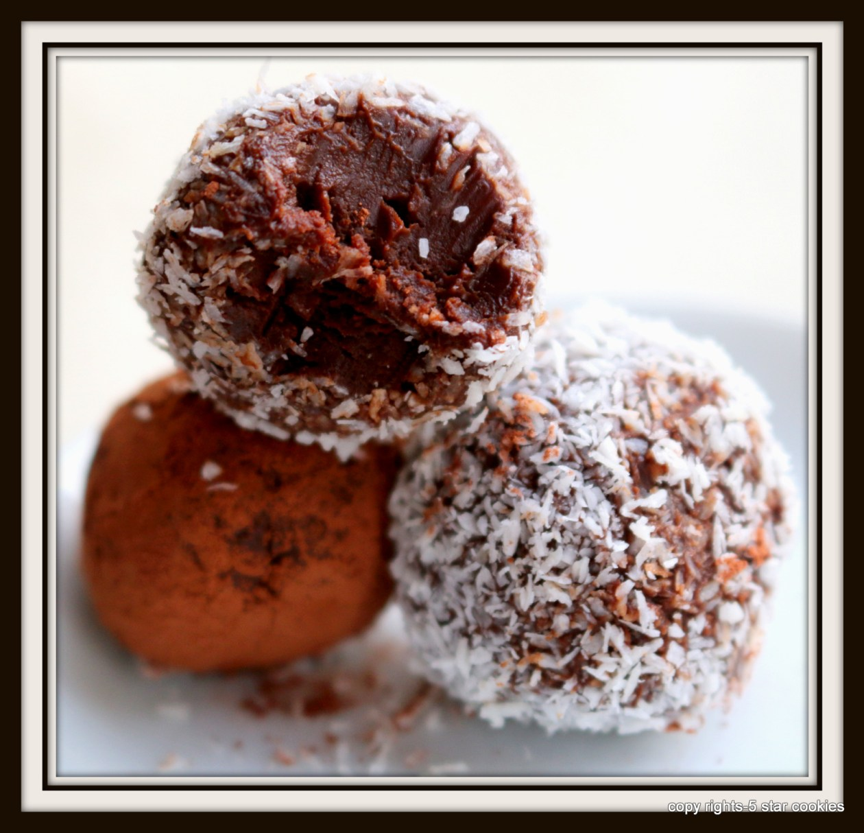 chocolate truffle from the best food blog 5starcookies