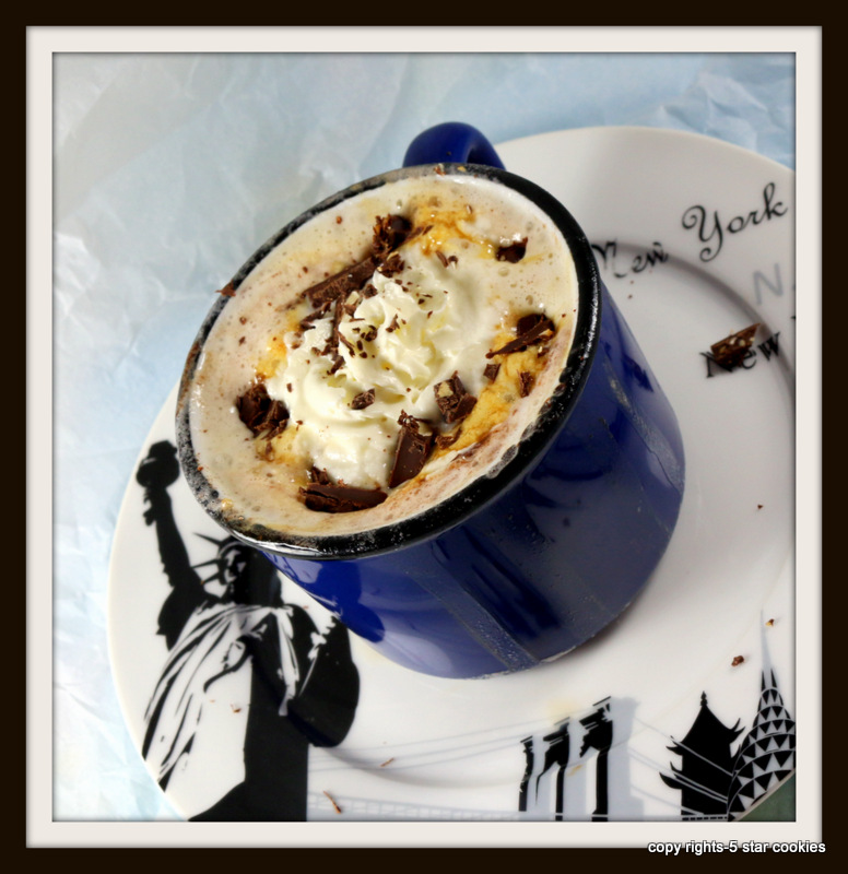 Nutella Coffee Drink from the best food blog 5starcookies-frame this moment