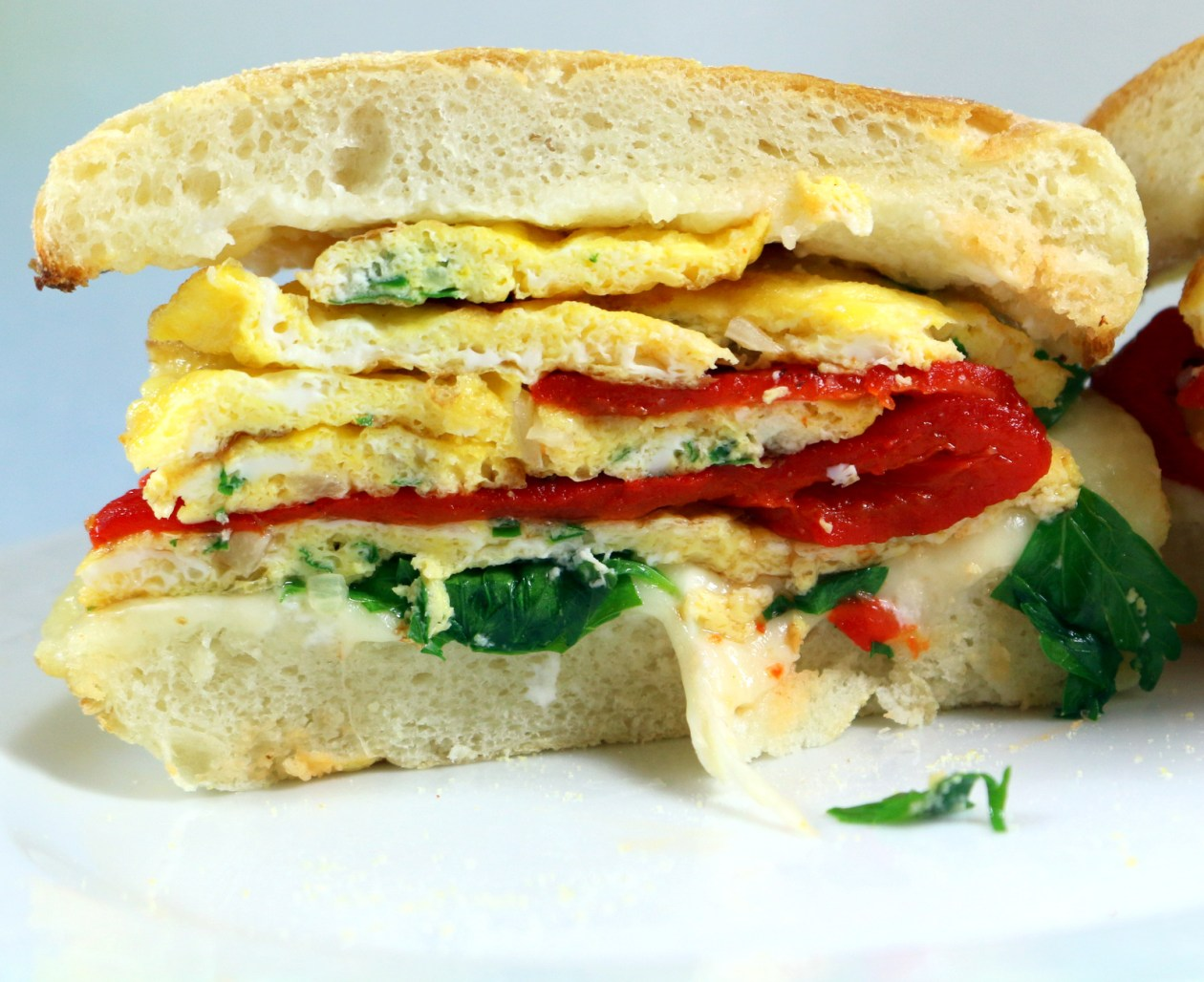 5 Star Breakfast Sandwich from best food blog 5starcookies -serve and enjoy