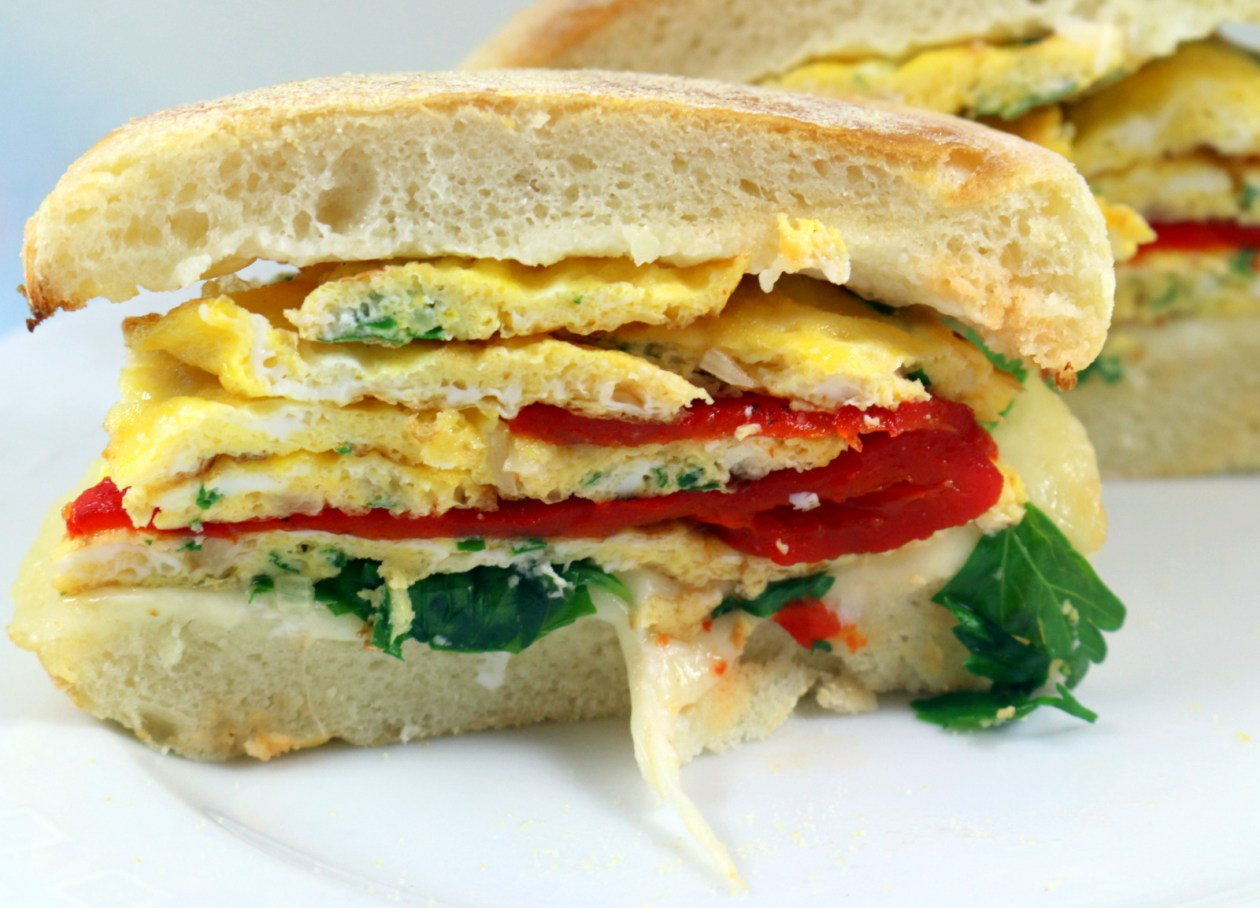 5 Star Breakfast Sandwich from best food blog 5starcookies