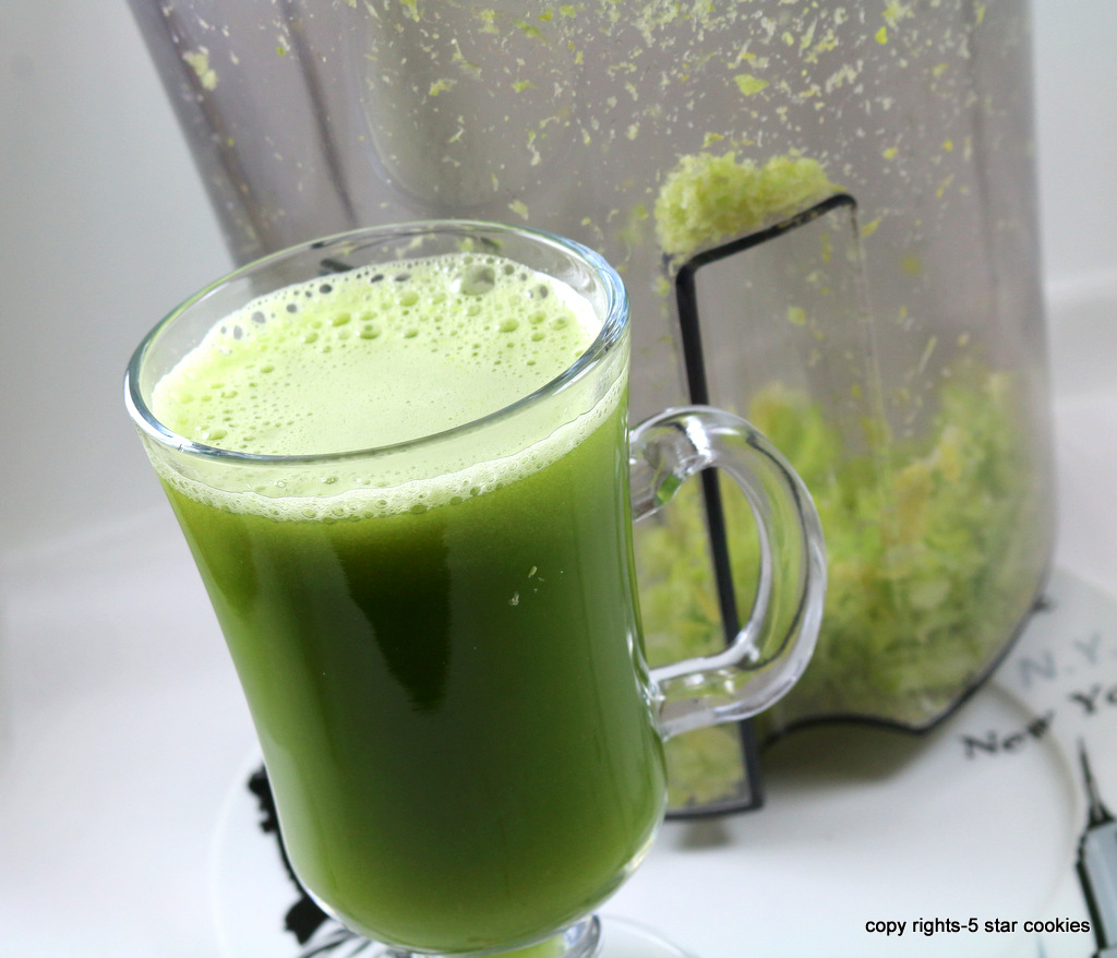 Celery juice miracle for your body from the best food blog 5starcookies -enjoy