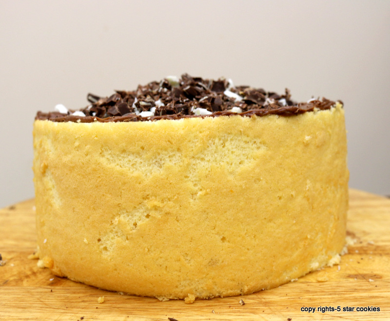 Vintage Grandma's Nostalgia Cake from the best food blog 5starcookies-action time