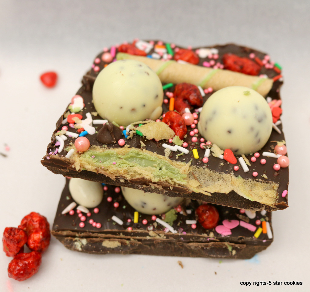 New Year Happy Chocolate from the best food blog 5starcookies
