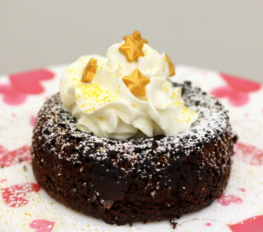 hazelnut orange lava cake from the best food blog 5starcookies-make the best chocolate lava cake