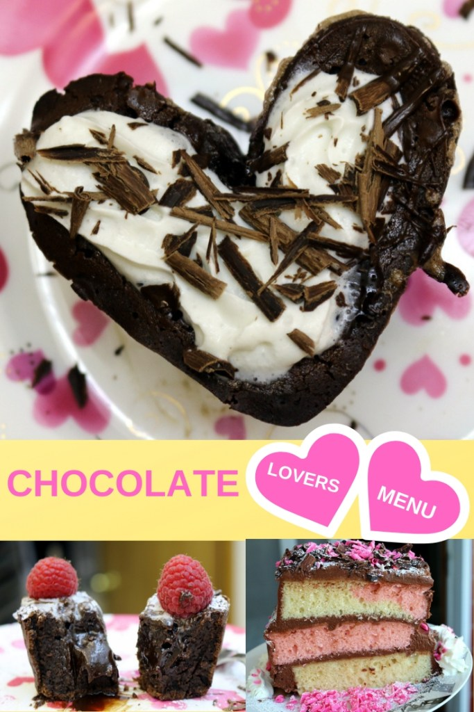 chocolate lovers menu from the best food blog 5 star cookies-enjoy and share