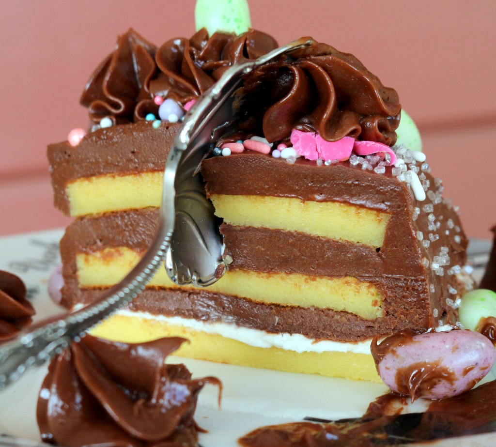 gluten free nutella chocolate torte from the best food blog 5starcookies - ready to eat this amazing Nutella cake