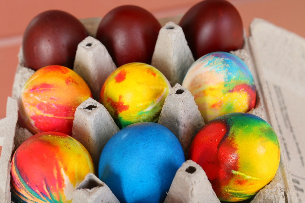 Easter eggs from the best food blog 5starcookies-the best project and recipe for your kids