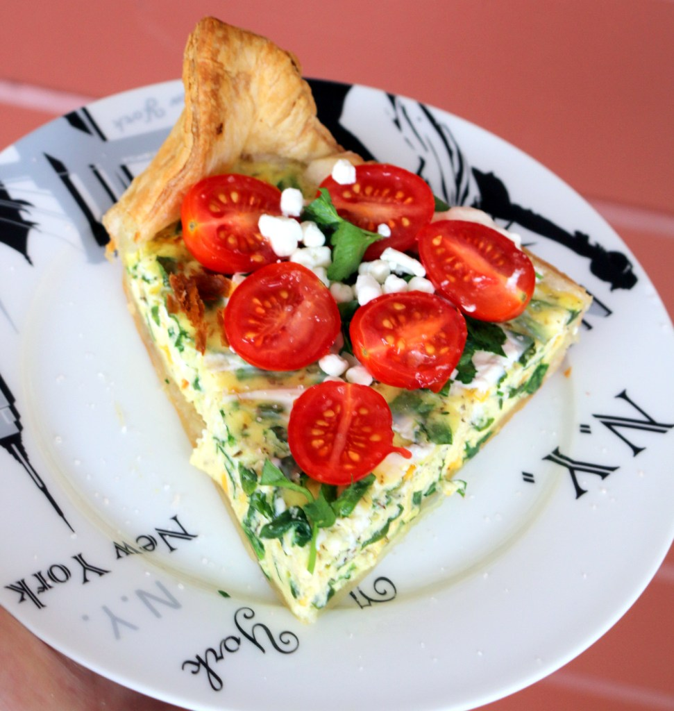 Ricotta and Spinach Quiche from the best food blog 5starcookies - from my family to yours