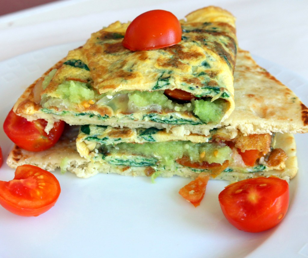 Breakfast Fab Omelet from your best food blog 5starcookies-super easy to make