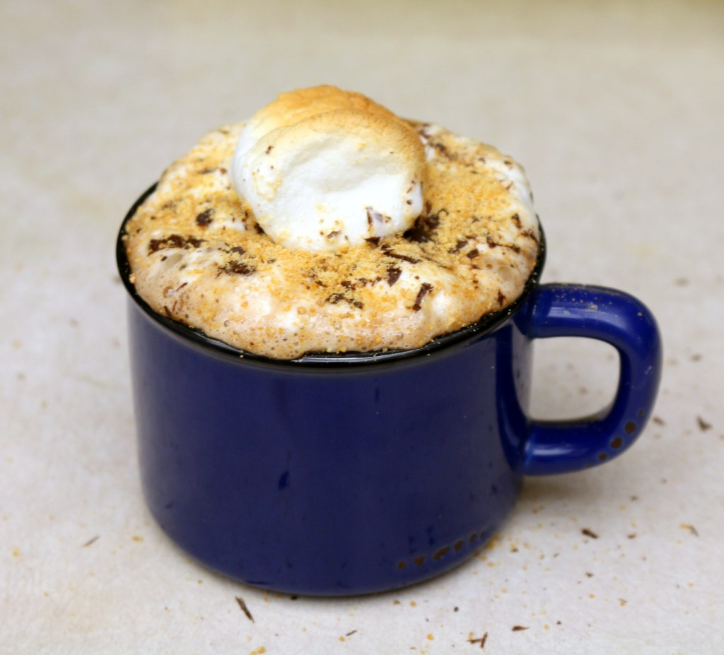 How to make the best Nutella Smores Drink