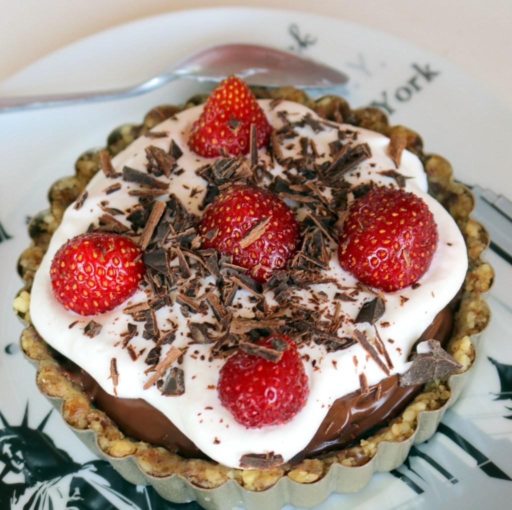 Nutella Best Recipe-Nutella Summer Tarts