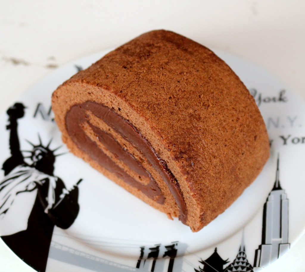 Chocolate Nutella Roulade from the best food blog 5starcookies-chocolaty, quick and delicious