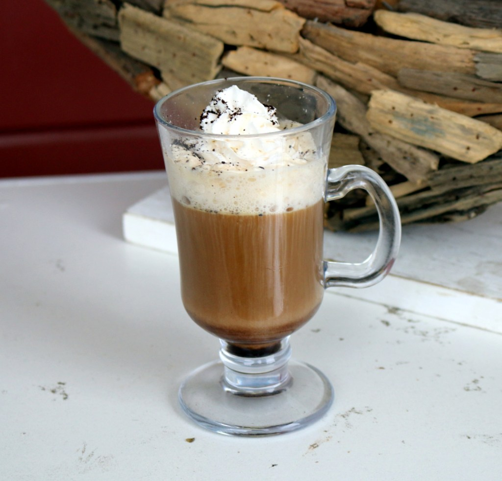 Spanish Nutella coffee from the best food blog 5starcookies-easy drink to make