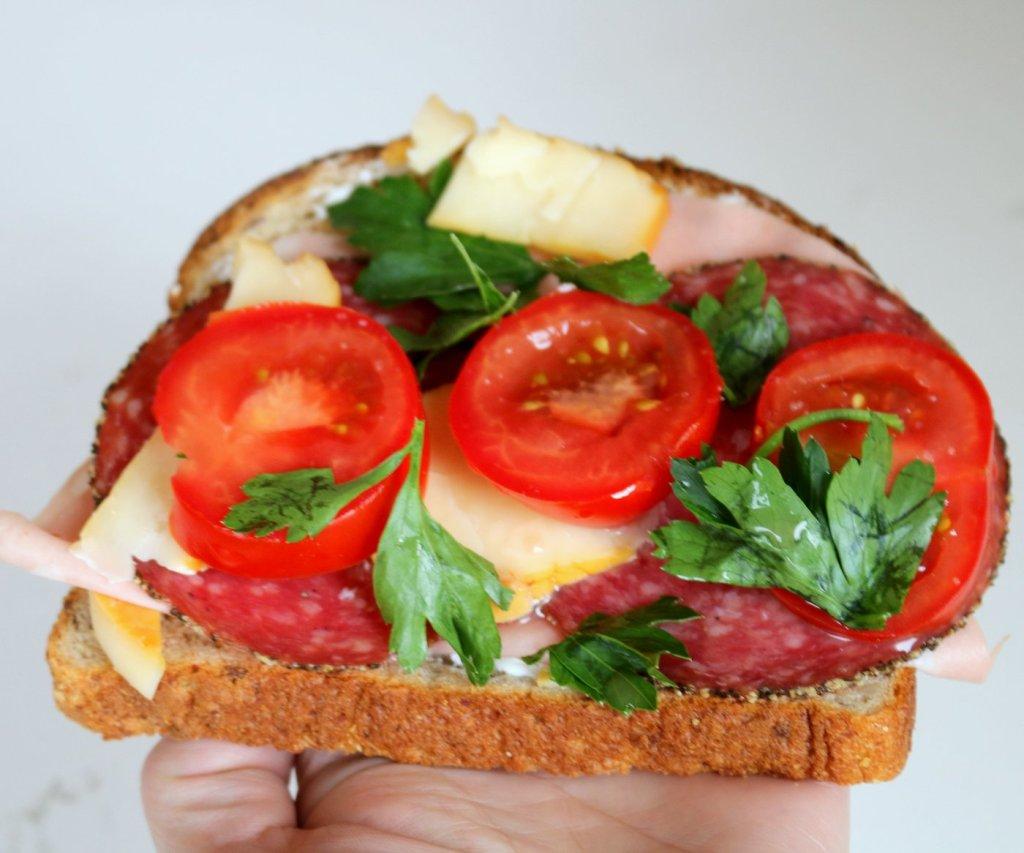 Ready to eat...big open hero sandwich