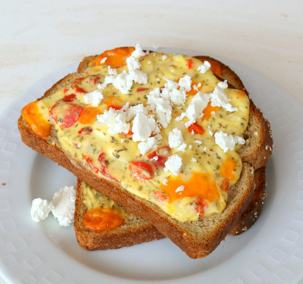 oven hot cheese sandwiches-5 star recipe