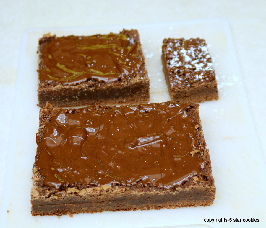 the best fudgy traditional brownies - cut into desired sizes