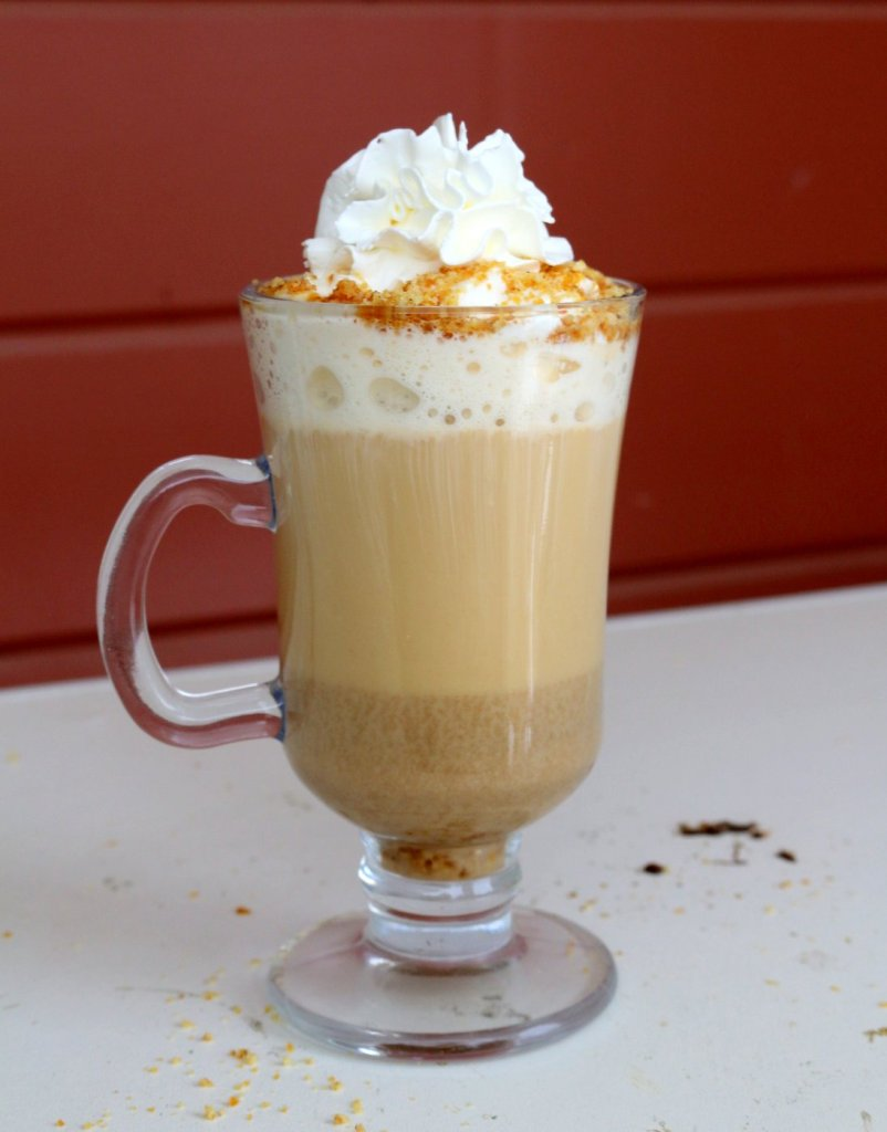 favorite merry coffee - Chestnut Praline Latte from  the best food blog 5starcookies