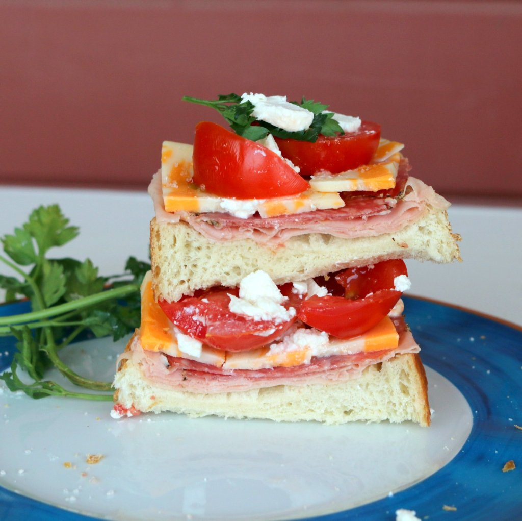 Hero Open Sandwich from the best food blog-enjoy and share this easy recipe