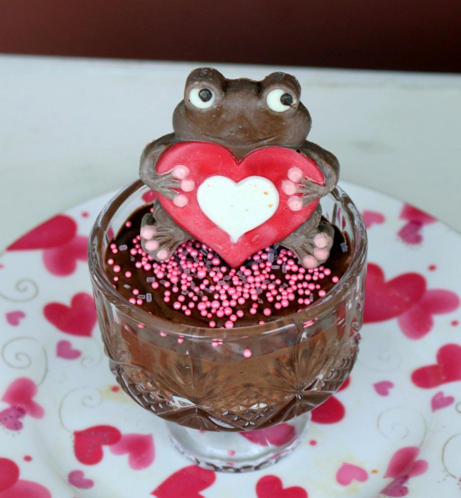 Mocha Nutella mousse from the best food blog 5starcookies for your Velentine's Day February 14