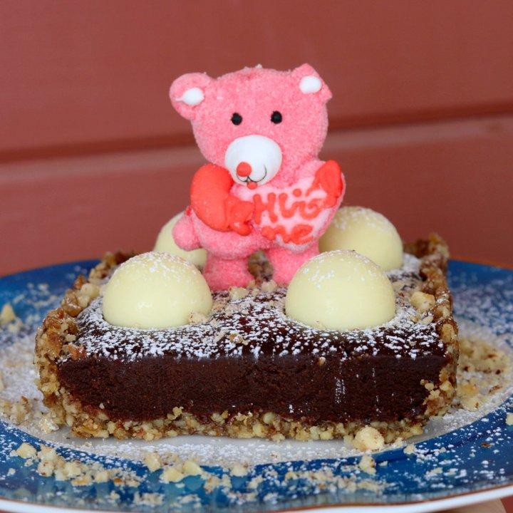 Chocolate Lindor Tart