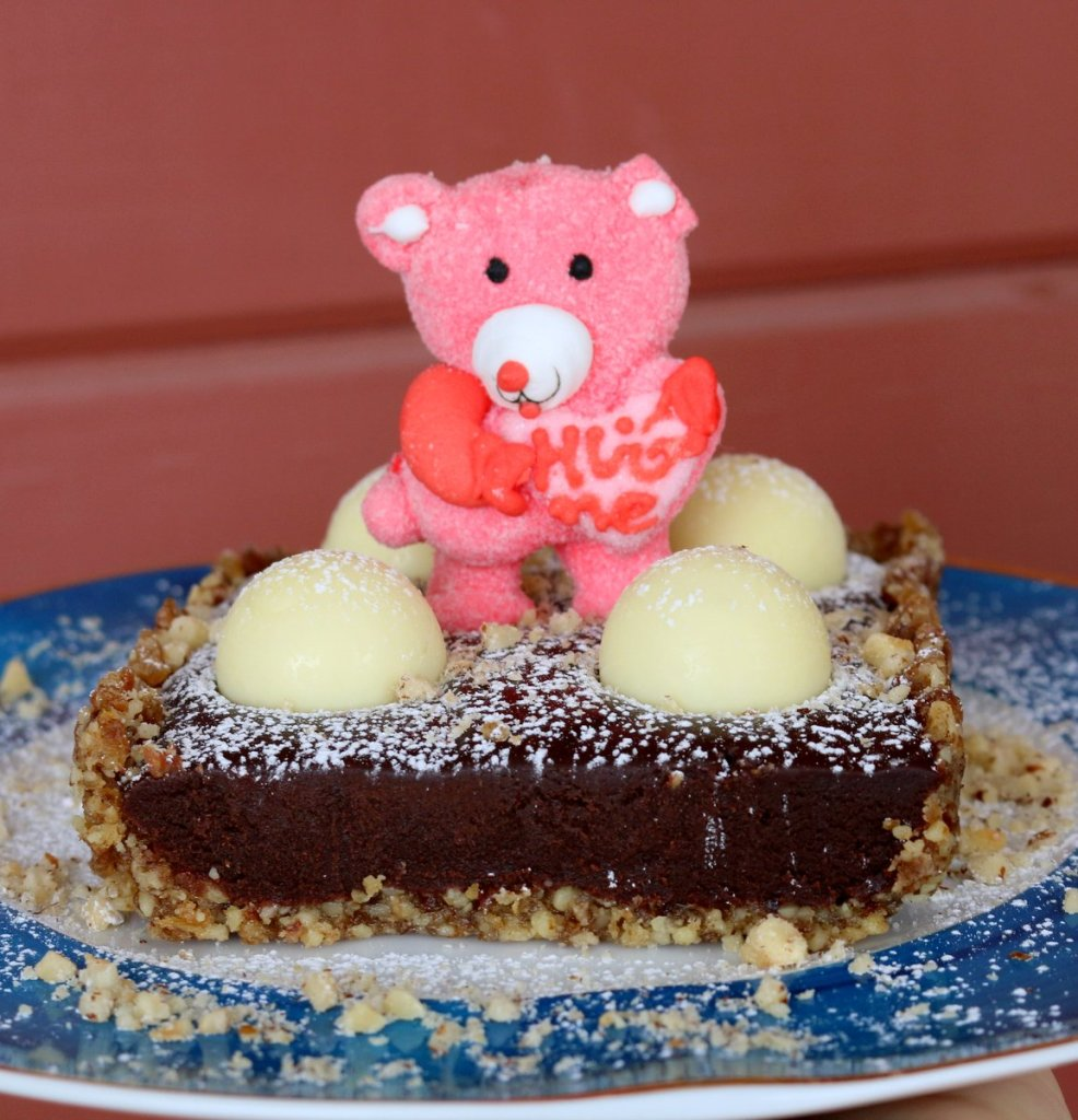 chocolate lindor tart - chocolate heaven recipe from 5starcookies
