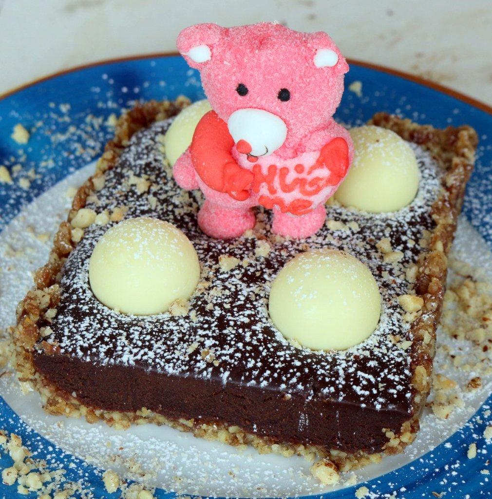 be kind and share chocolate Lindor tart recipe