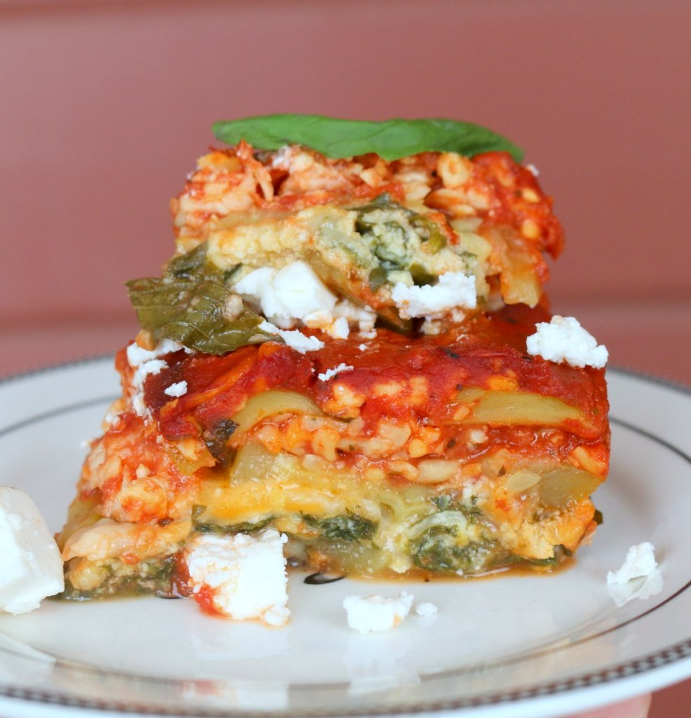 the best cheesy zucchini lasagna from blog 5starcookies