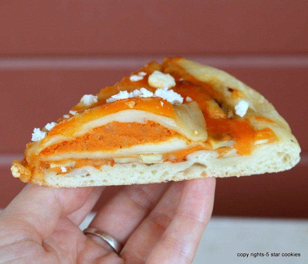Pierogi Homemade Pizza-enjoy and share