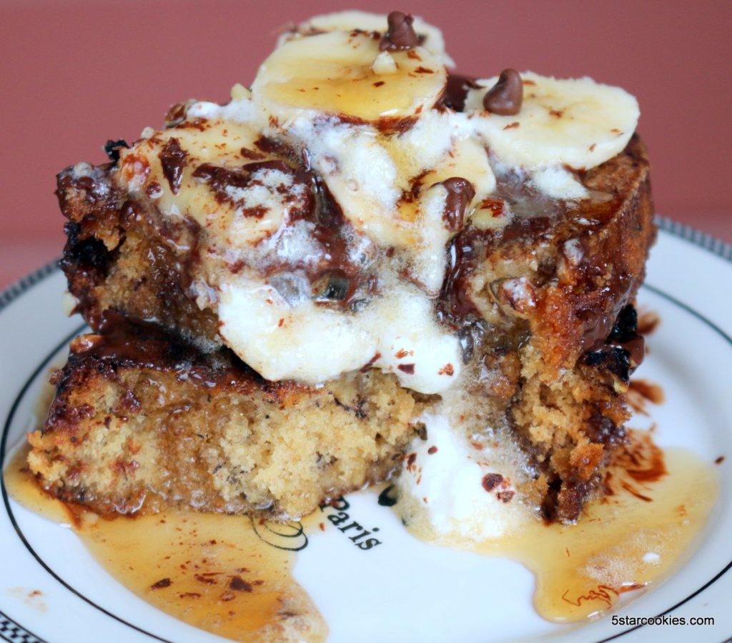 banana bread french toast - enjoy and share