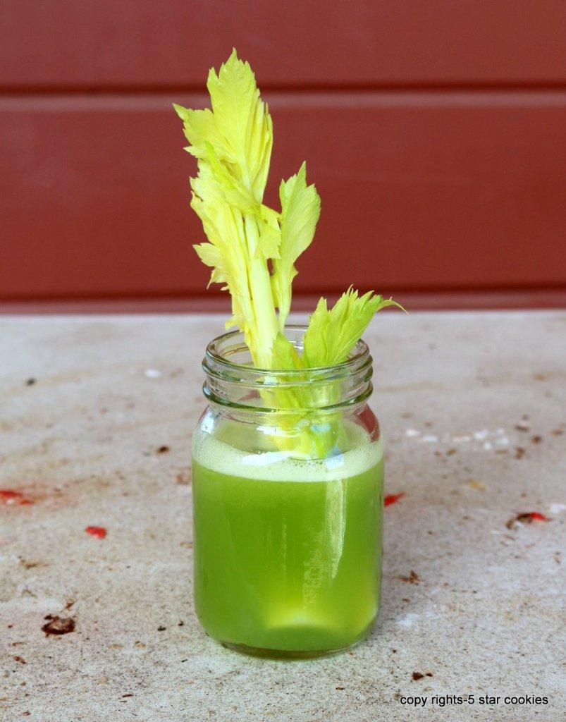 the best healthy drink - Celery Lemon Juice