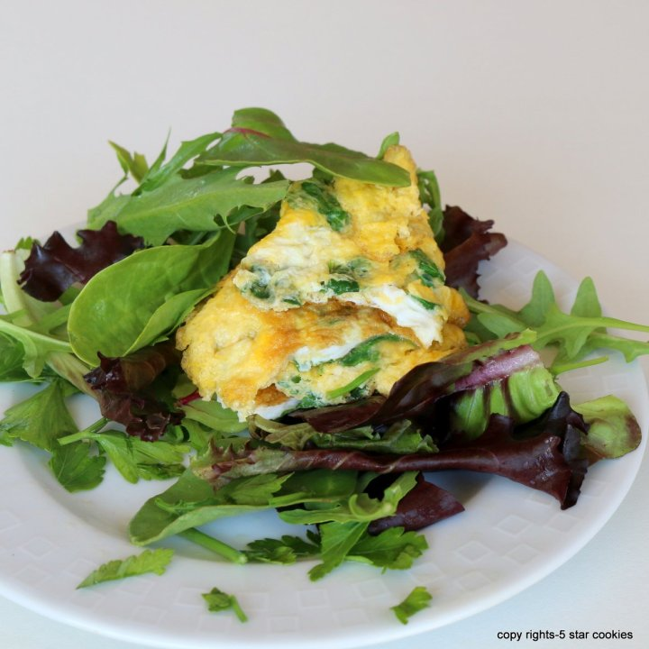 Egg spinach breakfast Liver TLC