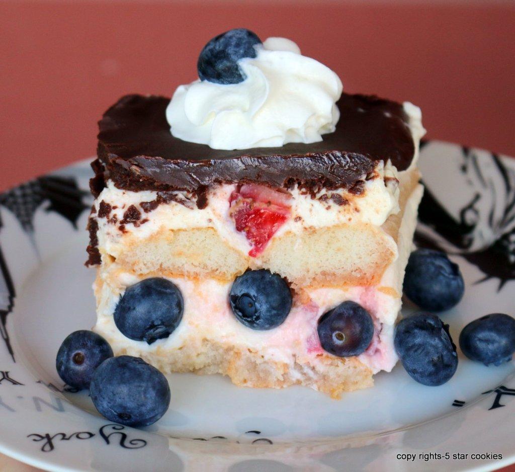 strawberry summer dessert