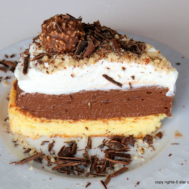 Sponge Ferrero Cake
