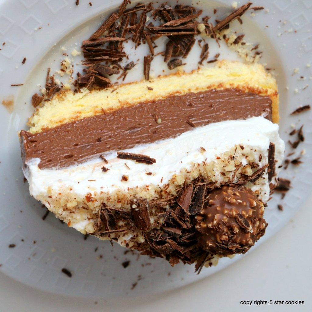 easy ferrero cake