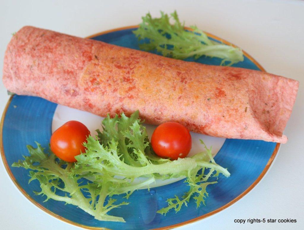 Easy Tortilla Sandwich