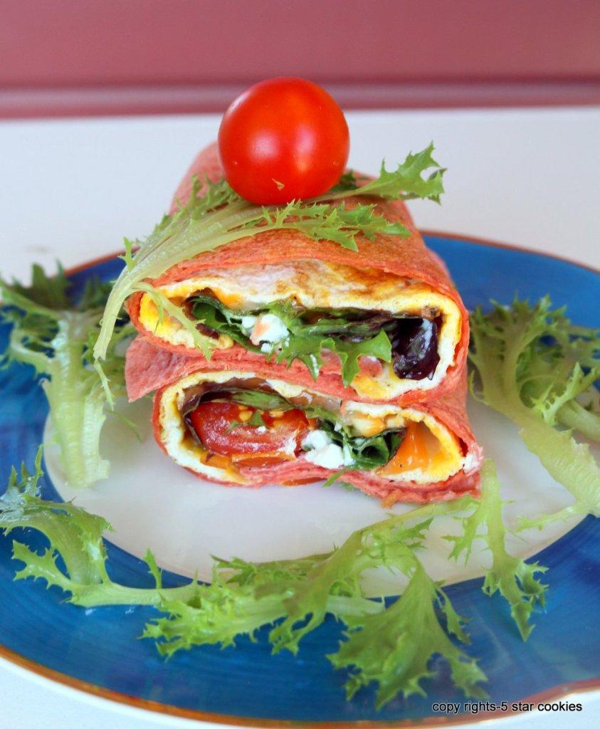 Cheese tortilla easy sandwich