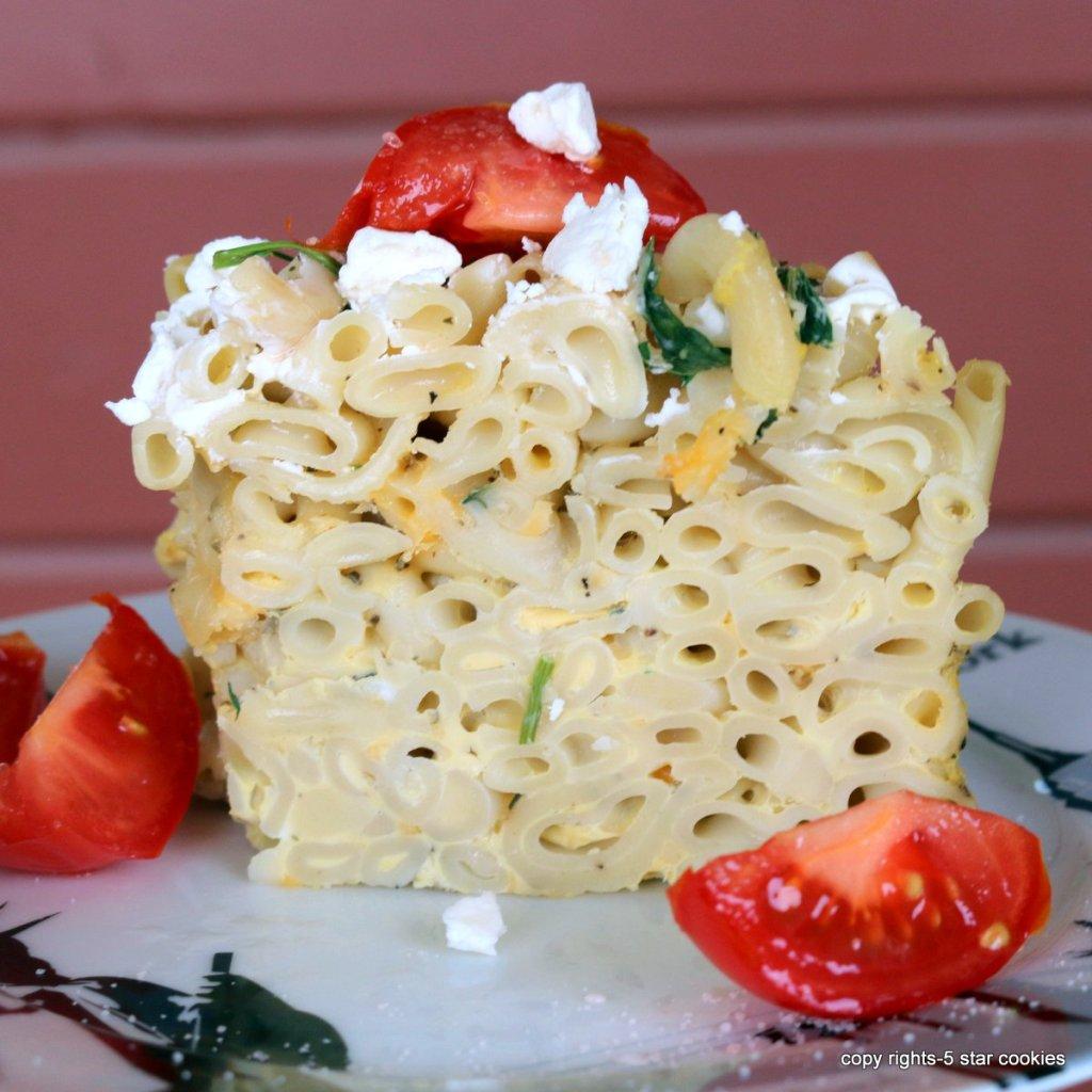 Italian Cheese Pasta Torte