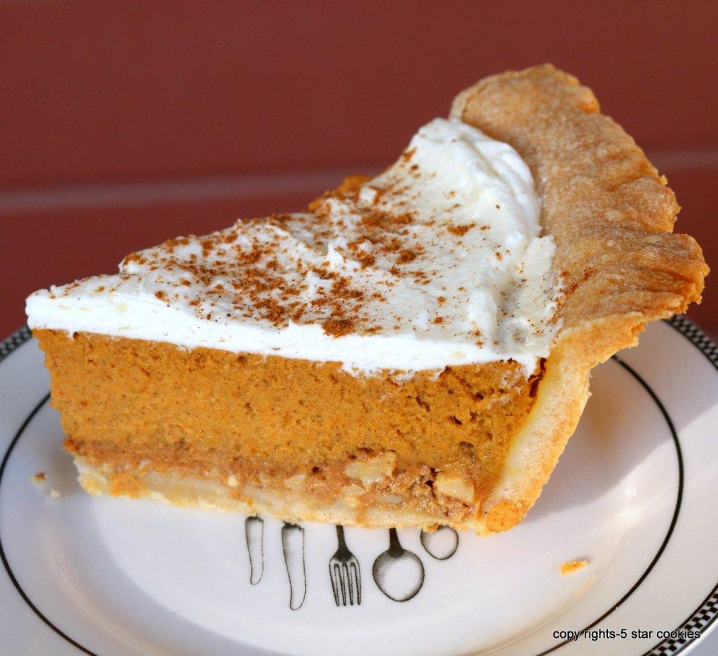 making thanksgiving dessert