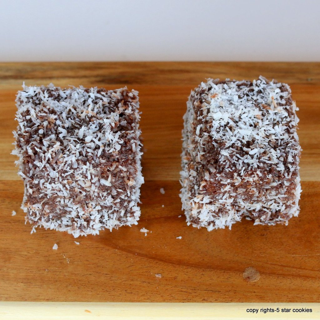 Lamingtons easy cake