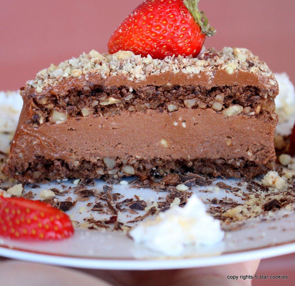ferrero valentines easy cake
