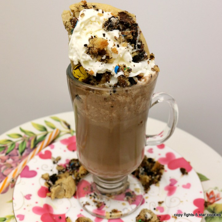 Chocolate Chip White Coffee Drink
